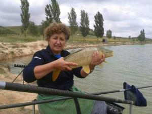 Rosa Cortés López, nueva campeona andaluz de Agua Dulce.
