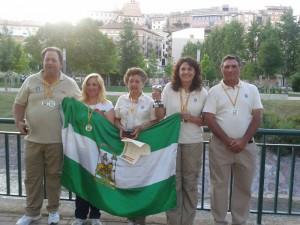 El equipo andaluz de Agua Dulce Damas defenderá en .. el título de campeón por equipos.