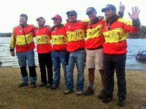 El equipo español celebra el quinto puesto mundial. / @LancesCanalSur