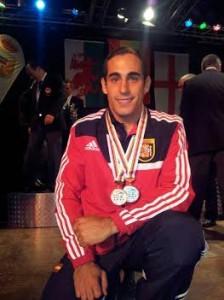 Carlos Cuesta Barranquero, campeón del mundo de Mar Costa, defenderá título en Francia.