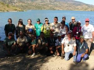 Todos los participantes del provincial gaditano en Bass Orilla Clubes.